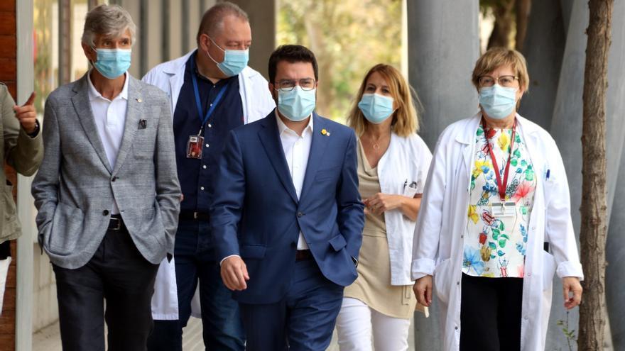 Aragonès avança que el Govern prepara «noves mesures» per fer front a l'increment de contagis