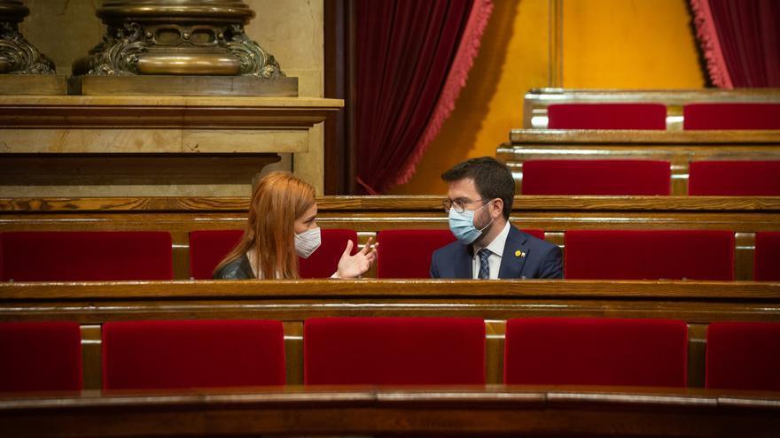 Pere Aragonès y Jordi Sànchez mantienen contactos para explorar una solución al Govern
