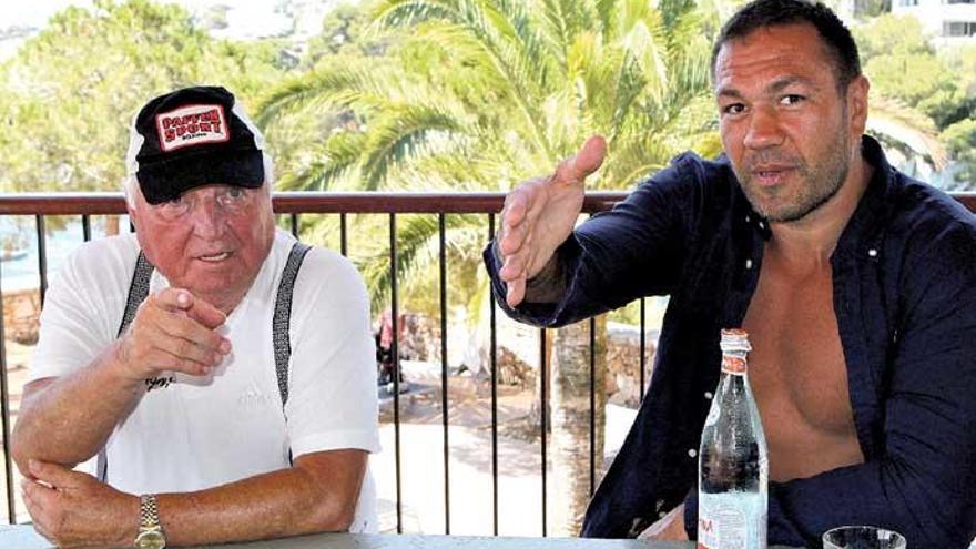 Box-Kultcoach Ulli Wegner trainiert mit Kubrat Pulev auf Mallorca