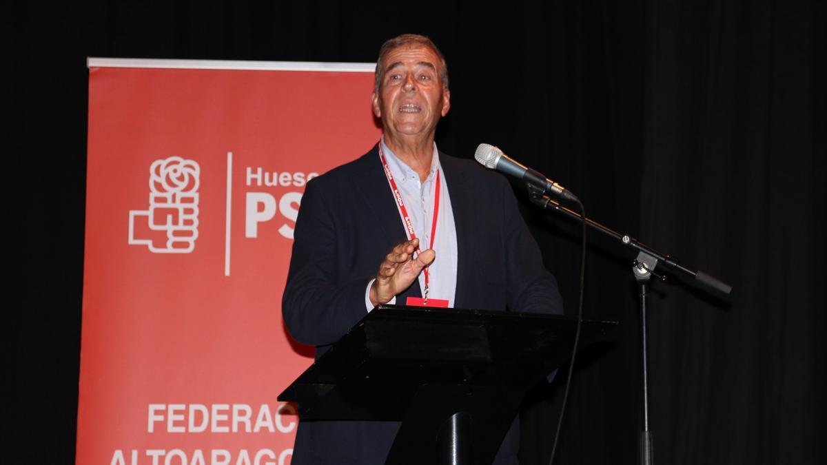 Antonio Cosculluela, secretario general del PSOE del Alto Aragón, anunció este viernes que no optará a la reelección.