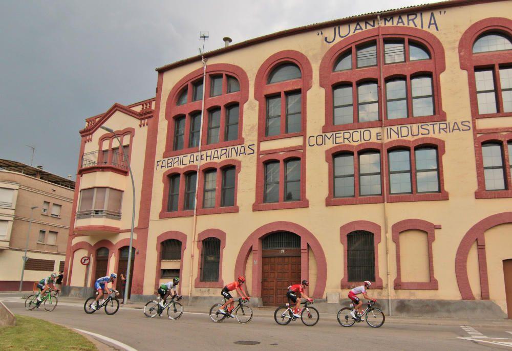 La Vuelta al seu pas per Manresa