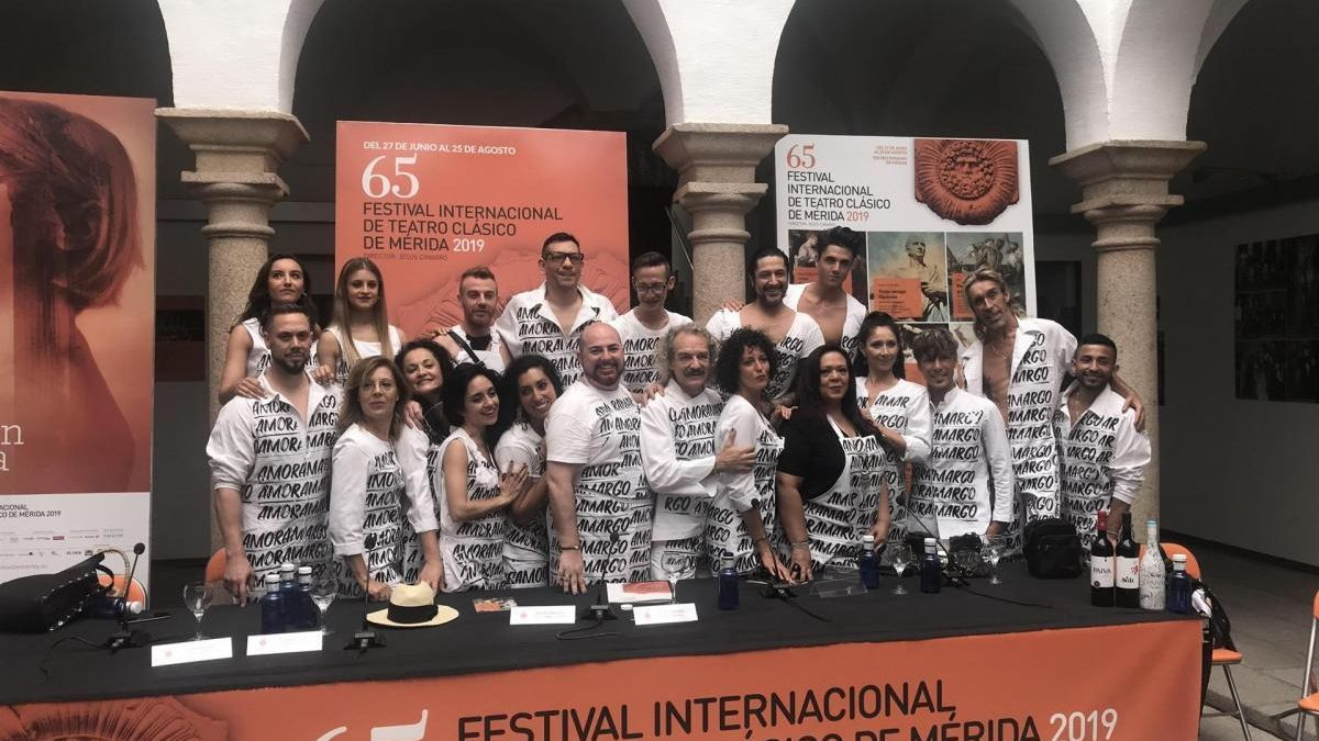 Rafael Amargo presenta en Mérida un Dionisio que fusiona flamenco, danza y teatro