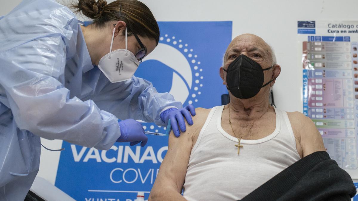 La campaña de vacunación coge ritmo en Galicia