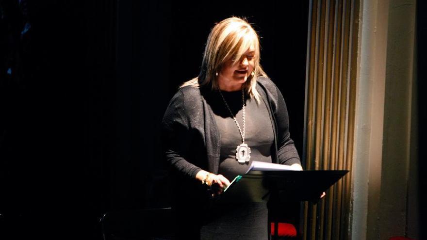 Ana Pedrero pronunciará la meditación de las Siete Palabras