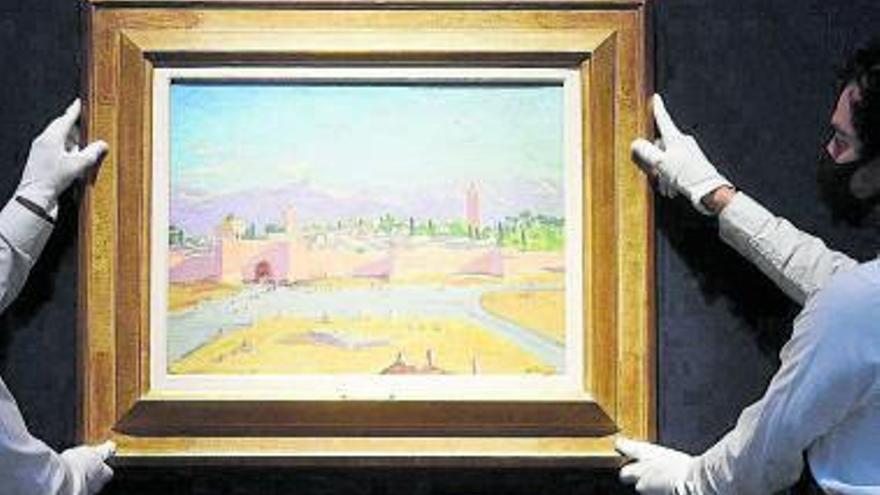 La genial historia del cuadro pintado por Winston Churchill