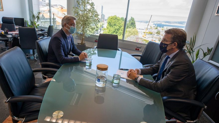 Feijóo reitera su apoyo al nuevo centro de salud y al PXOM