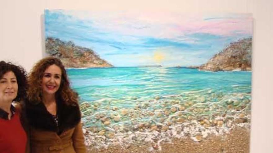 La materia de Marta Torres en S'Alamera