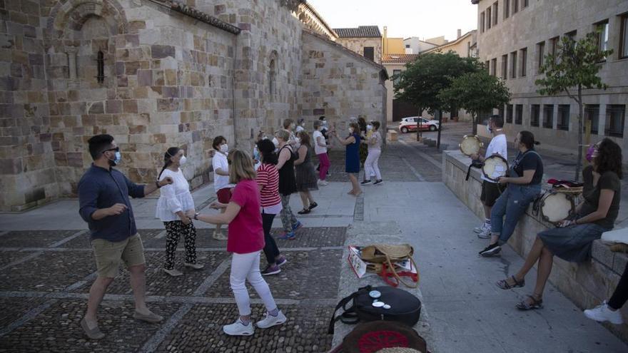 La Morana celebra el día de San Francisco de Asís con una eucaristía en Zamora