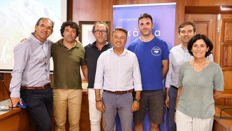 La Fundación Oceanogràfic certifica el buen estado de la biodiversidad marina de Xàbia