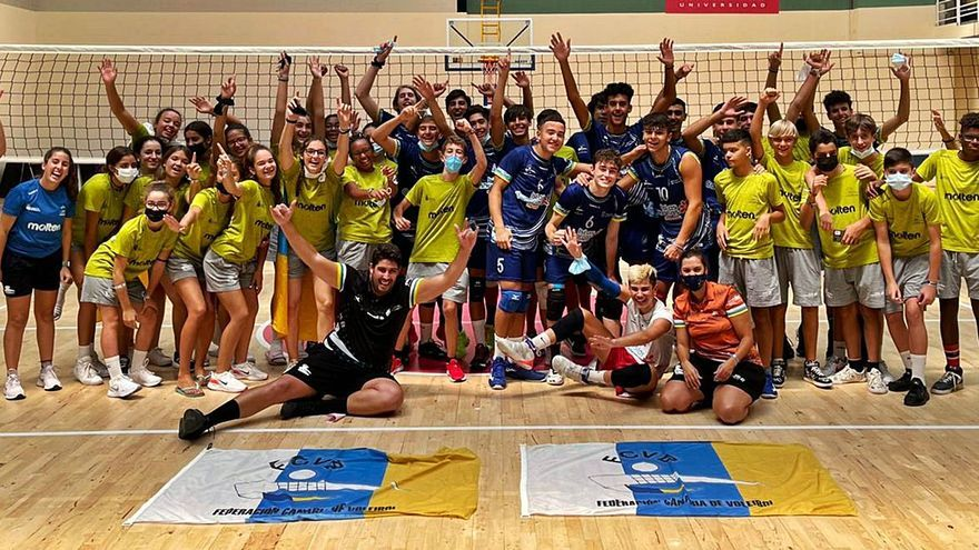 Los cadetes de Canarias reinan en España