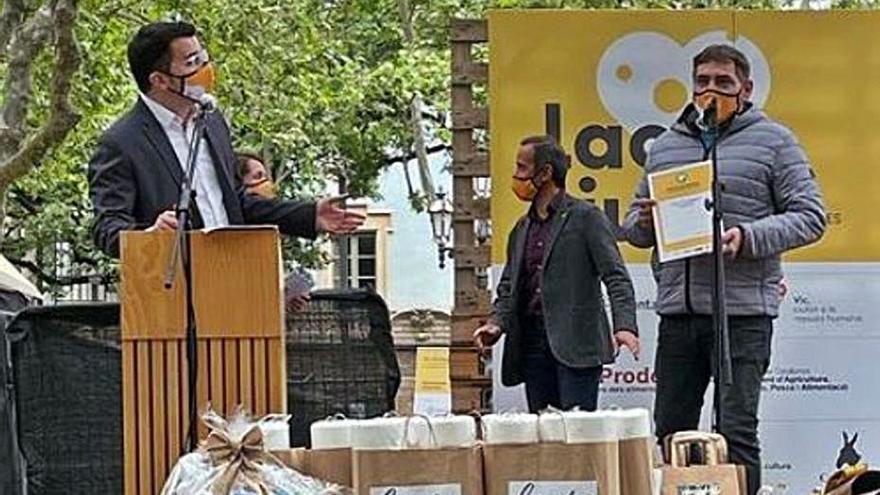 Premi a la sostenibilitat per a l'empresa formatgera Peralada Mas Marcè