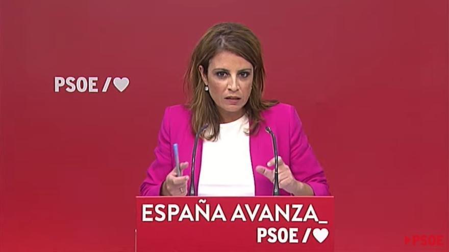 """El PSOE defiende la """"firme"""" voluntad de diálogo con Cataluña, """"con Sánchez o sin él"""""""