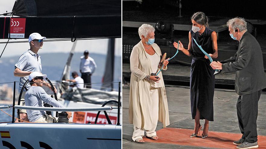 Felipe und Letizia auf Mallorca: Der König geht segeln, die Königin geht ins Kino