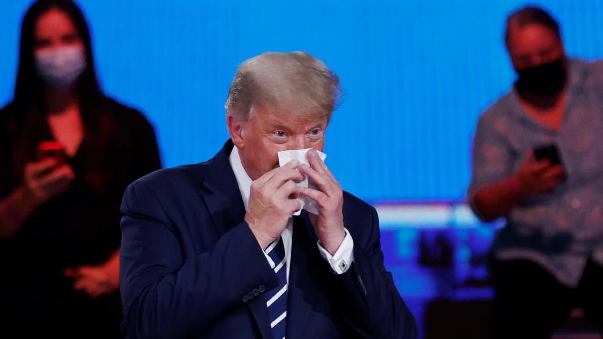 Trump durant el seu debat a la NBC.