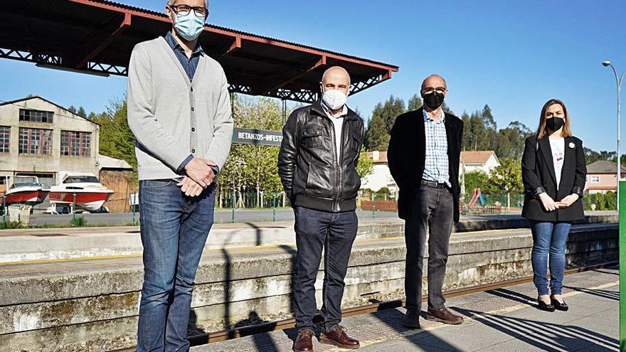 El BNG exige el baipás en Betanzos-Infesta y la modernización de la línea ferroviaria