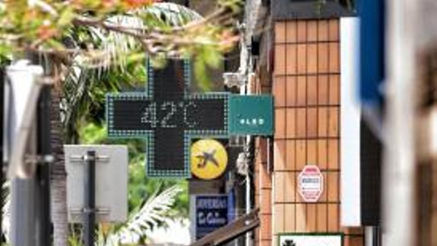 Ola de calor en Canarias, agosto de 2021