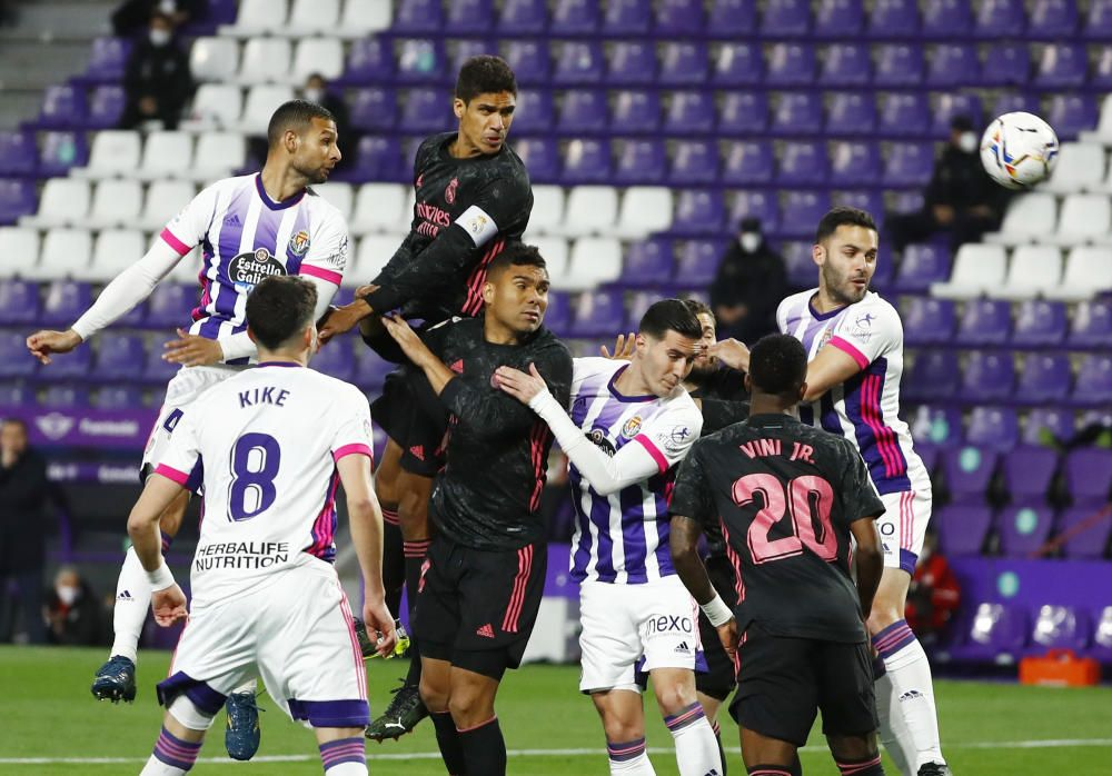 LaLiga Santander: Real Valladolid - Real Madrid.