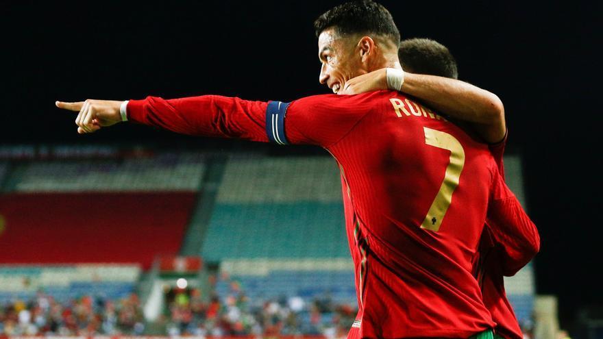 Cristiano Ronaldo supera a Sergio Ramos y ya es el europeo con más internacionalidades