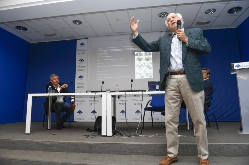 GENTE Y CULTURA 26-06-2018   LAS PALMAS DE GRAN CANARIA.  Acto en el Club Lal Provincia. Nikos Makris imparte la conferencia     26/06/2018   Fotógrafo: Juan Carlos Castro
