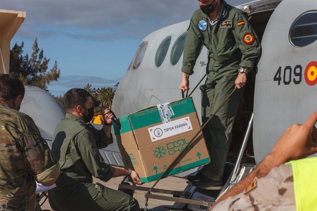 La vacuna Janssen llega Gran Canaria