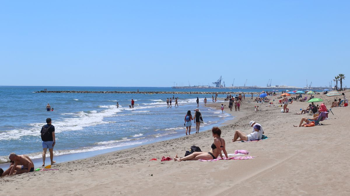Imagen de una de las playas de Castelló.