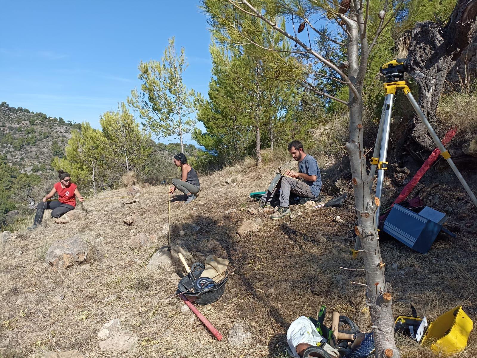Descubren un yacimiento inédito de época romana en plena Serra de Tramuntana