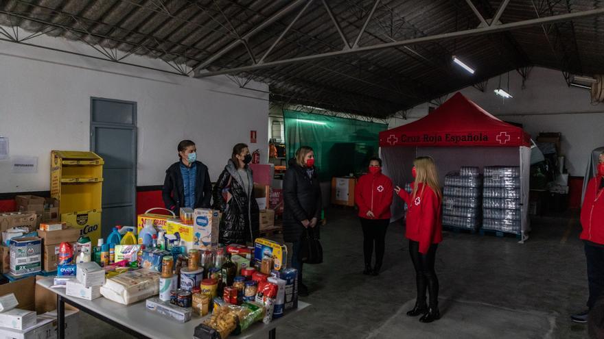 Cruz Roja atiende a 16.112 personas en Zamora durante el año del COVID