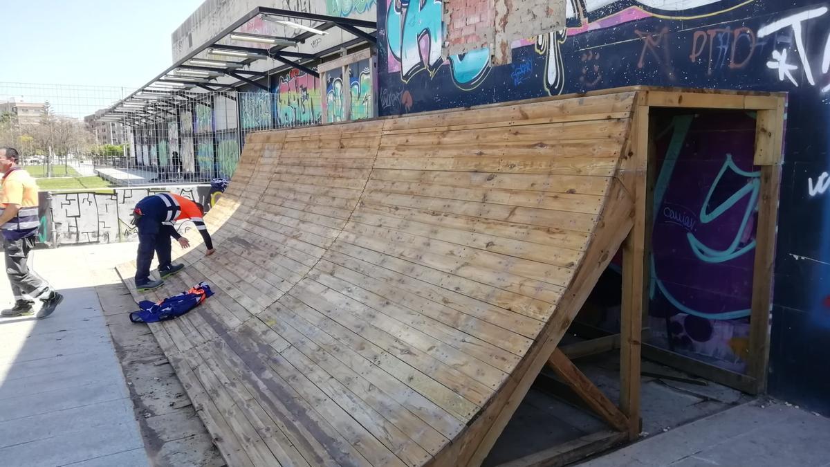 Alboraia deberá cambiar la ubicación del skatepark