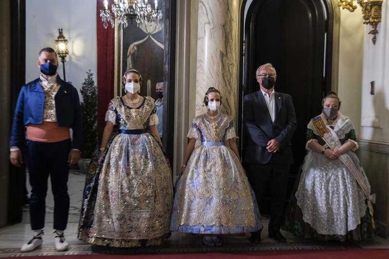 Proclamación de Carmen Martín y Nerea López, falleras mayores de València 2022