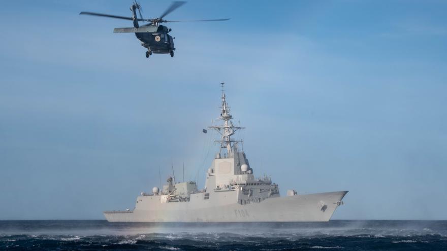 Dos fragatas de la OTAN visitan el puerto de Alicante