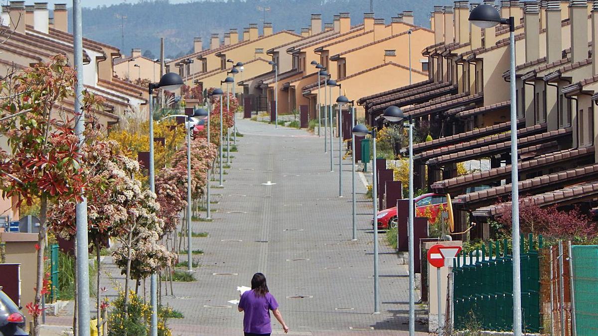 Urbanización Costa Miño Golf.     // L.O.
