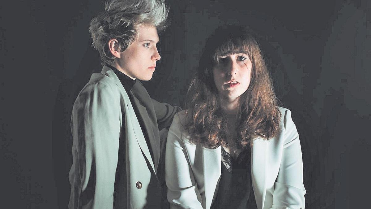 Nera Bueno y Alba Villarig (Lady Banana) están a punto de lanzar su nuevo disco: 'Bipolar'.