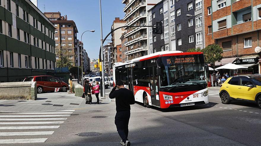 Lío en Pablo Iglesias por el carril bus