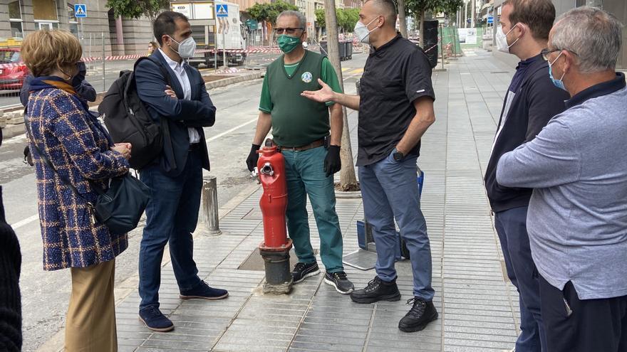Comerciantes de Luis Doreste Silva critican el impacto de la Metroguagua en los negocios