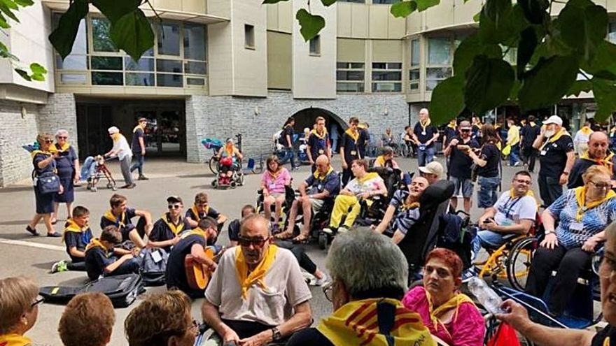 Un «pelegrinatge» virtual a Lourdes