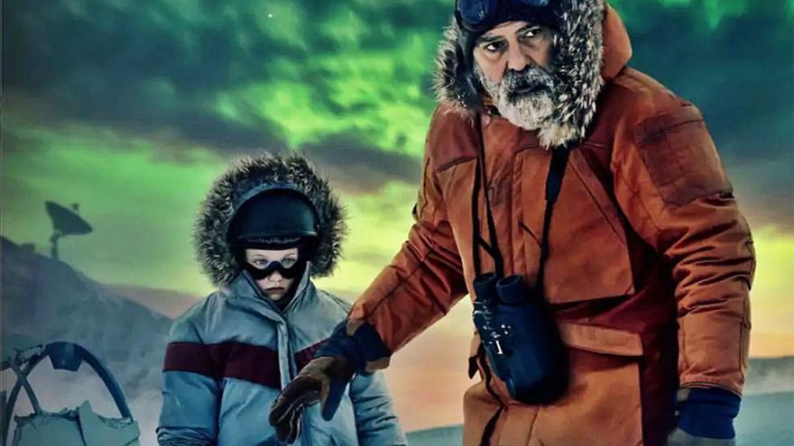George Clooney lleva el cielo  de La Palma a Hollywood