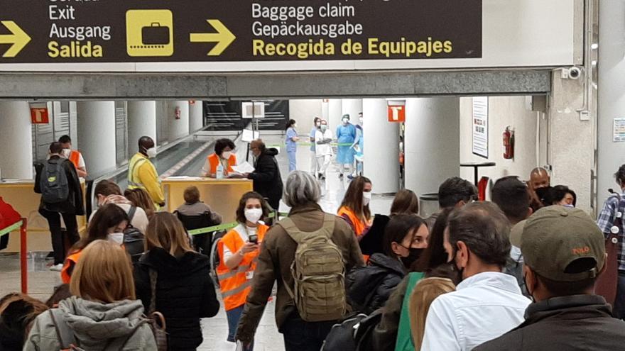 El TSJB respalda el control sanitario de pasajeros que vienen a Mallorca