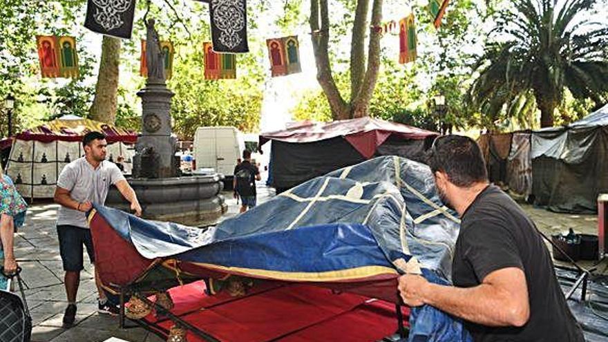 Arranca la Feira das Marabillas, en la Ciudad Vieja