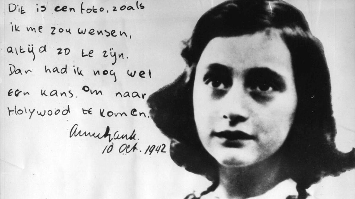Fotografía de archivo de Ana Frank.