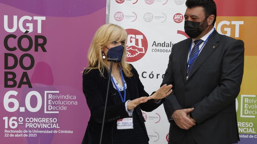 Vicente Palomares, reelegido secretario general de UGT Córdoba