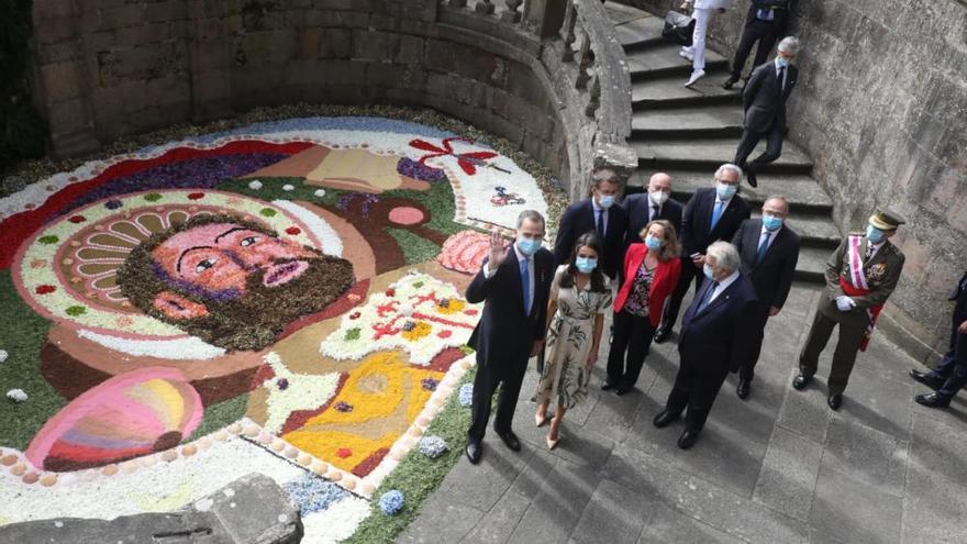 Los Reyes presiden el Día de Galicia en Santiago