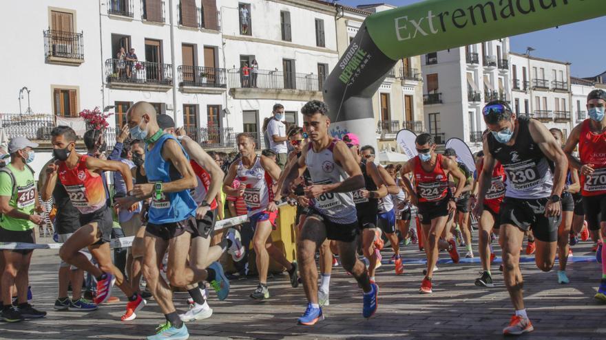 Sin traspiés en la media maratón