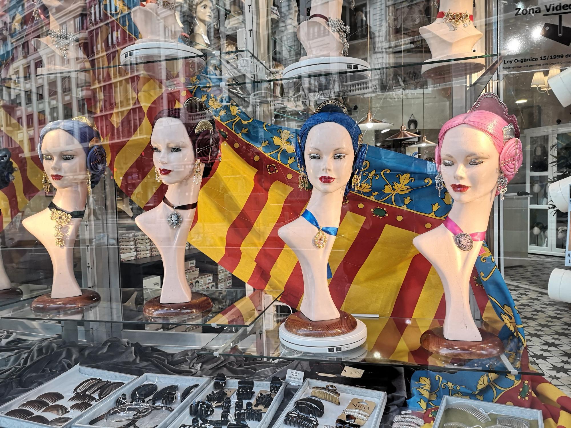 Fallas 2021: Los moños de valenciana vuelven al centro de València
