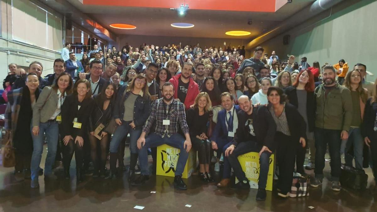 Foto de familia del Día de la Persona Emprendedora, celebrado en noviembre de 2019.
