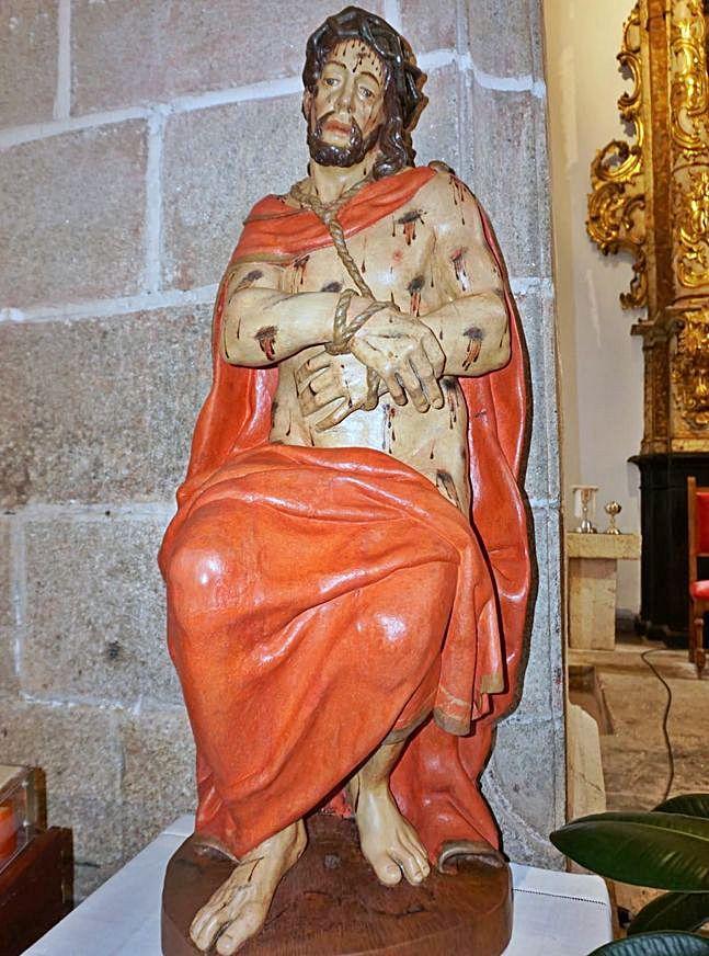 El Cristo de la Paciencia después de la restauración.