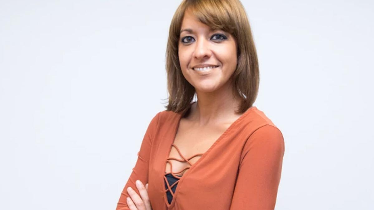 La periodista Elia Rodríguez.
