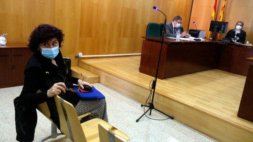 La Fiscalia recorre l'absolució de Montse Mindan per l'1-O