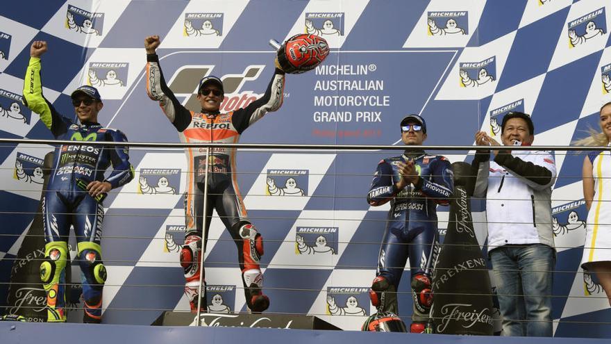 Maverick esgota les opcions per ser sotscampió de MotoGP
