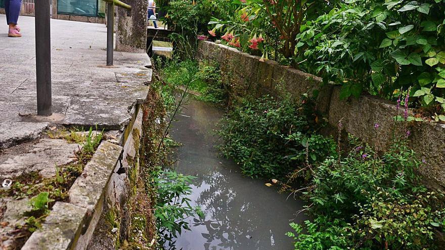 Nuevos vertidos en el Bouzós y alerta por descomposición de algas en Liméns