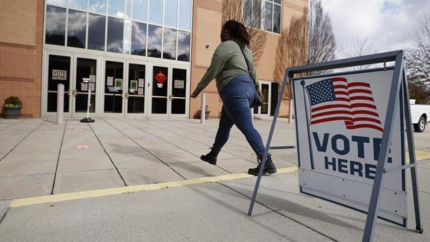 Las elecciones al Senado en Georgia se celebran sin incidentes que destacar